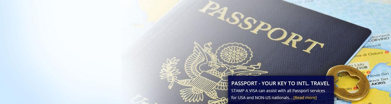 Stamp A Visa - 2